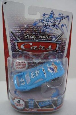 愛卡的玩具屋 ㊣2013美泰STUNT RACERS 迪士尼汽車總動員回力特技豎立旋轉玩具車6(清倉價)