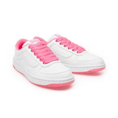 CHIEF' VANS 日版 FLOATER 粉紅色 皮革 舒適 運動休閒鞋 女孩限定款 sz4.5~7.5