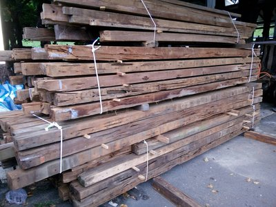 台灣檜木/紅檜 舊樑料