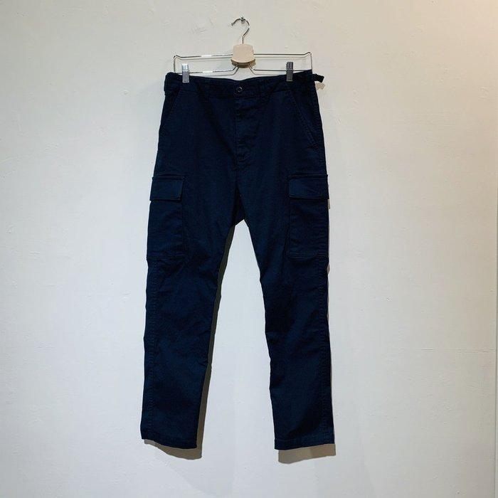 (Used) Beams Pocket Military Pants 深藍 長褲 休閒褲 現貨