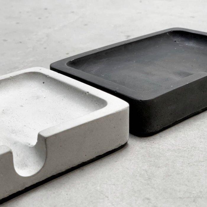 【曙muse】極簡水泥肥皂架 簡約 置物 飾品收納 擺飾  Loft 工業風 咖啡廳 民宿 餐廳 住家 設計