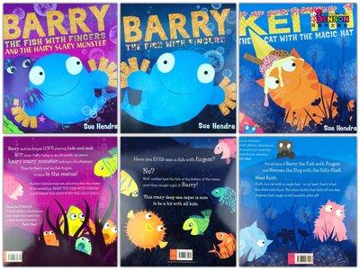 [邦森外文書] Barry The Fish With Fingers Collection - 3 Books