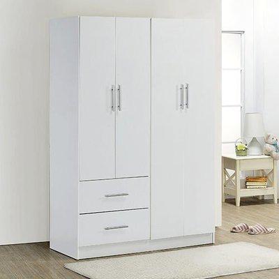 百老匯diy家具-H-時尚白四門二抽衣櫃/衣櫥/衣架/收納櫃/置物櫃/此為時尚白下標區