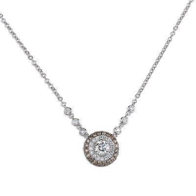 【JHT金宏總珠寶/GIA鑽石專賣】 天然鑽石項鍊/材質:18K(JB50-A07)