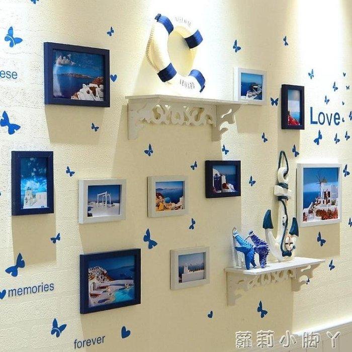 照片牆房間裝飾品牆上臥室牆壁相框面貼紙自黏電視牆背景牆紙貼畫 NMS蘿莉小腳ㄚ