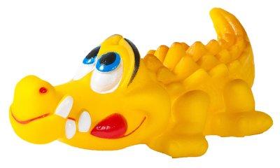 LEO兩棲水族系列 塑膠抗憂鬱益智舒壓狗玩具 狗玩伴TY-0111(鱷魚)每個55元