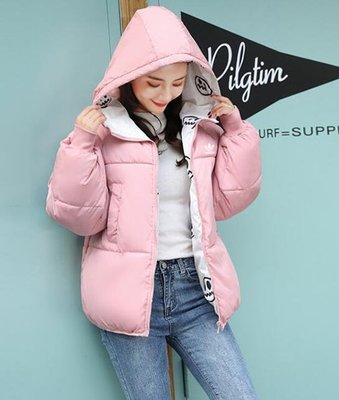 『Fashion❤House』新款冬季女款棉衣愛迪達外套雙面穿可愛卡通仙女外套加絨adidas外套羽絨外套保暖外套機車外套