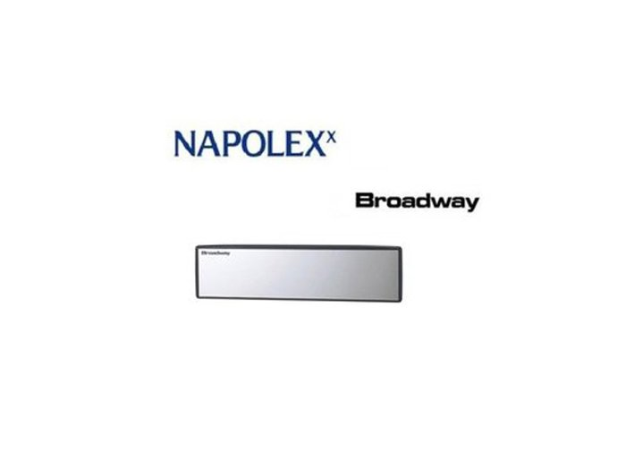 《達克冷光》NAPOLEX 曲面室內鏡240mm BW 843