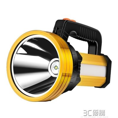 手電筒 led手電筒強光可充電超亮遠射5000多功能家用戶外氙氣手提探照燈w