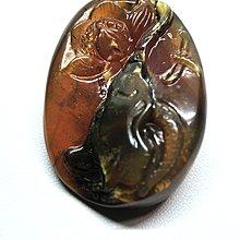 緬甸琥珀 棕紅珀 紫羅蘭珀 金棕珀 金棕珀變色龍級花開富貴(強綠膜 帶白蜜貓眼金沙)