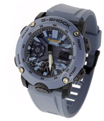 深水步門市 全新正貨1年保養 7日有壞包換 CASIO 卡西歐 手錶 G-SHOCK GA-2000SU-2A