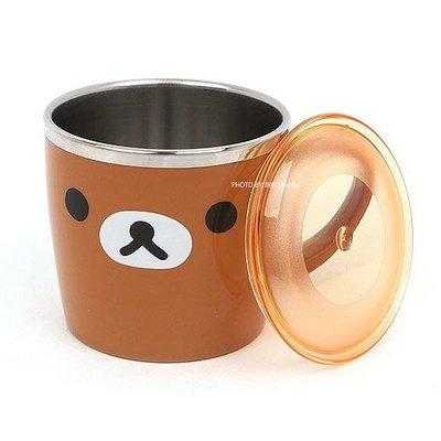 【草屯店】韓國進口餐具 波力 安寶 拉拉熊 304 有蓋 不鏽鋼杯 不銹鋼 水杯 260ml