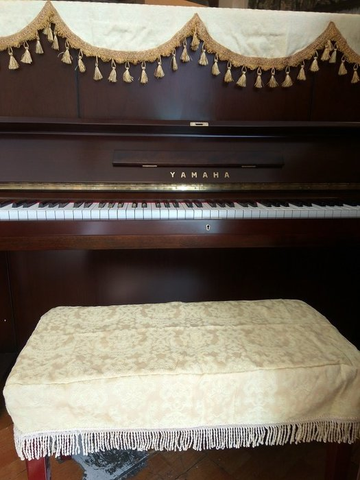 BC15∮有琴有藝@台中~全新高雅鋼琴椅套 椅罩連彈椅 椅罩 鋼琴椅套