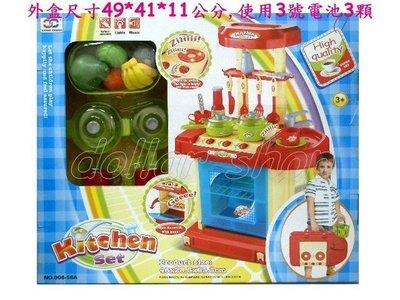 寶貝玩具屋☆【家家酒】提籃款外燴大師料理微波爐廚具組(藍)另有粉色款喔