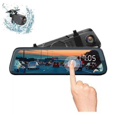 新款流媒體行車記錄儀 全屏觸控1080P高清 無光夜視 前后雙錄 10寸行車記錄儀 CY-888行車記錄器10390