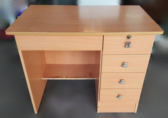 台中二手家具宏品 全新中古傢俱買賣 E123004木紋色書桌 電腦桌*2手桌椅買賣 辦公桌 會議桌 餐桌 戶外休閒桌