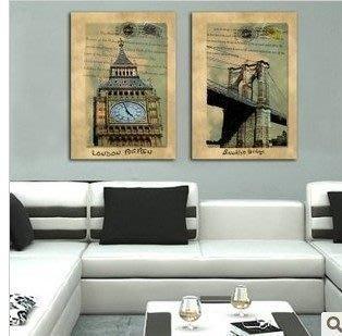 【優上精品】現代簡約過道裝飾畫歐式家居無框畫壁畫走廊抽象掛畫墻畫(Z-P3196)