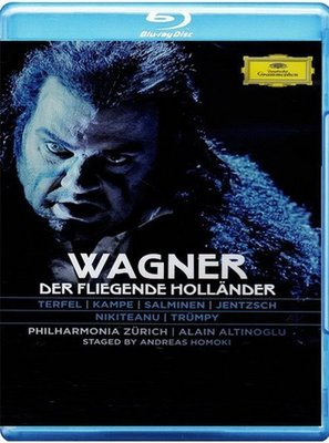 【藍光BD】華格納:歌劇《漂泊的荷蘭人》 / 特菲爾-0735174