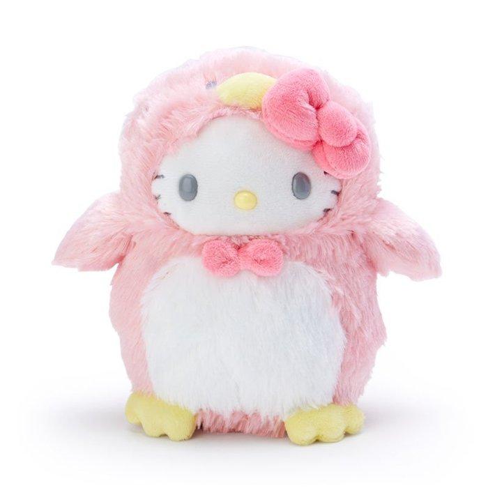 4165本通 絨毛娃娃S 企鵝造型-凱蒂貓  美樂蒂 4550337588383 下標前請詢問