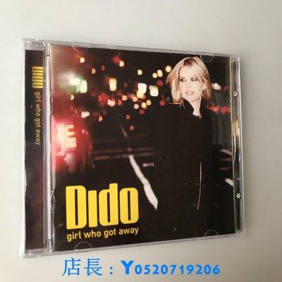 G0irl Who Got Away by Dido 2013蒂朵 寂寞出走 全新 可車載CD明泰店