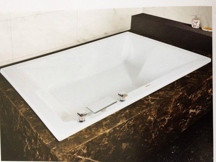 給Y1031627222 直 購 方型浴缸 浴缸 空缸  浴缸H-402-A    160*120*60公分