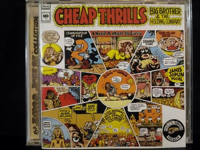 Cheap Thrills ~ Janis Joplin & Big Brother & The Holiday Company,吝嗇感動,350元。