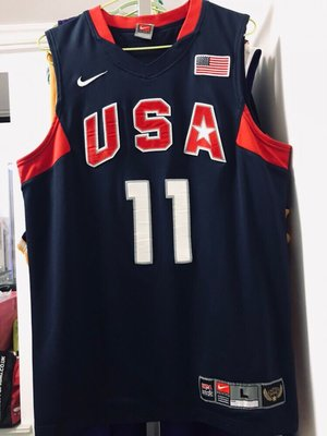 正品球衣~魔獸德懷特霍華德 罕見美國男籃夢八2008北京奧運球衣籃球服AU