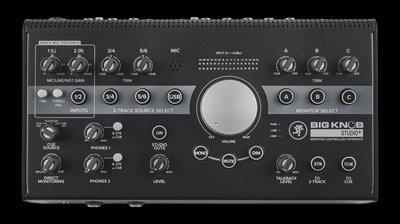 音響世界:MACKIE New BIG KNOB STUDIO+ 6軌錄24bit/192KHz音介面-全新到貨