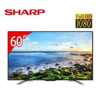 SHARP 60型FHD智慧連網電視 LC-60LE580T