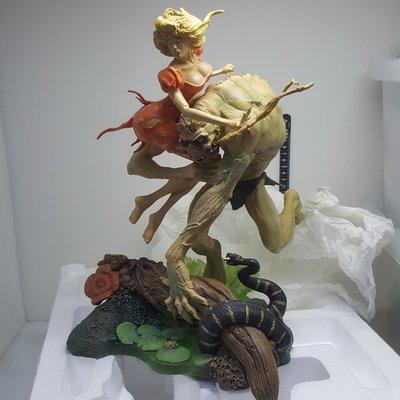日本帶回絕版 William Stout's NUMBER ONE Monster Men 全球限量250隻 GK 模型
