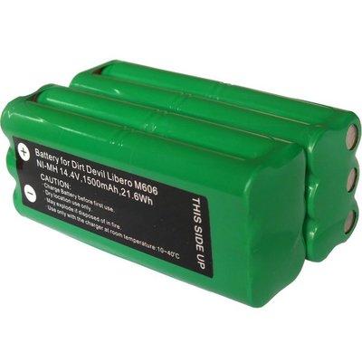 VBot衛博士T270掃地機電池/T270吸塵器電池 容量雙倍 14.4V 1500mAh 地貝Dibea