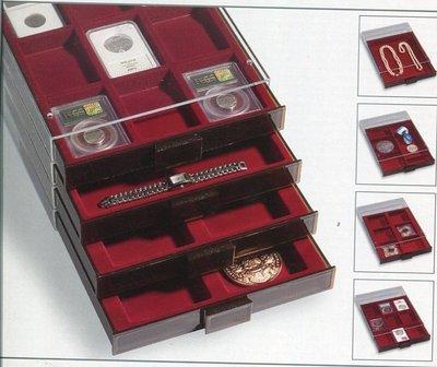 燈塔牌Lighthouse鑑定幣收藏展示盒二個