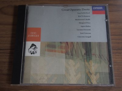 MWM◎【二手CD】Great Operatic Duets 加版, 片況佳無刮痕