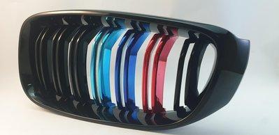 BMW F32 F45 F48 G11 G12電鍍三色水箱護罩/水柵/豬鼻子