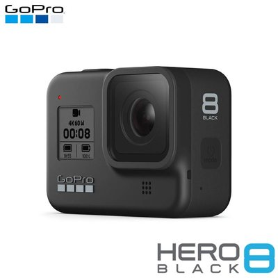 【EC數位】GoPro HERO8 Black 黑 運動攝影機 防水 觸控變焦 攝影 夜拍 錄影 防震 語音控制 預購