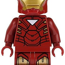 Lego Super Heroes Iron Man with Triangle on Chest 人仔1隻 全新 連藍色磚 (6867)
