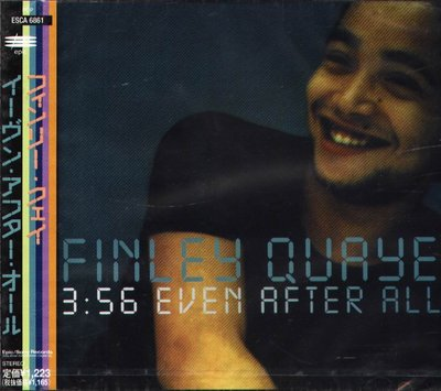 K - Finley Quaye - Even After All - 日版 - NEW 1997