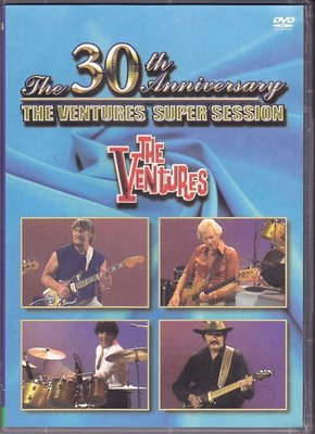 音樂居士#The Ventures The 30th Anniversary Super Session 投機者樂團D9 DVD