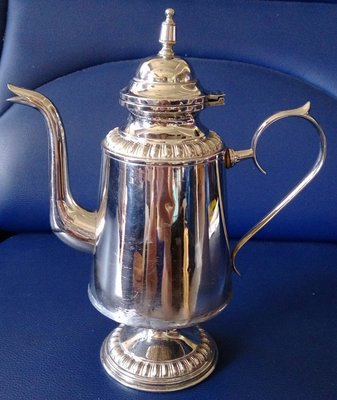65 瑞典壺 swedish  silver coffeepot vintage  ( 壺身加強整理過)