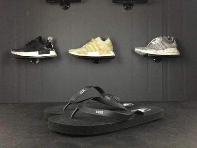 ☆LION販殼☆VANS Logo Slider Flip Flops 黑色 拖鞋 輕便 人字拖 涼拖鞋