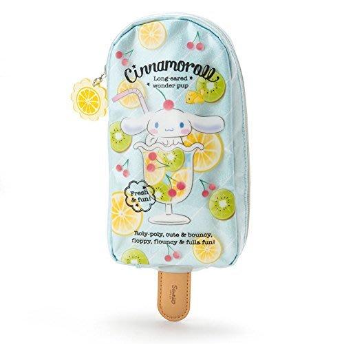 代購現貨 日本三麗鷗 大耳狗 冰棒造型防水拉鍊筆袋 收納袋