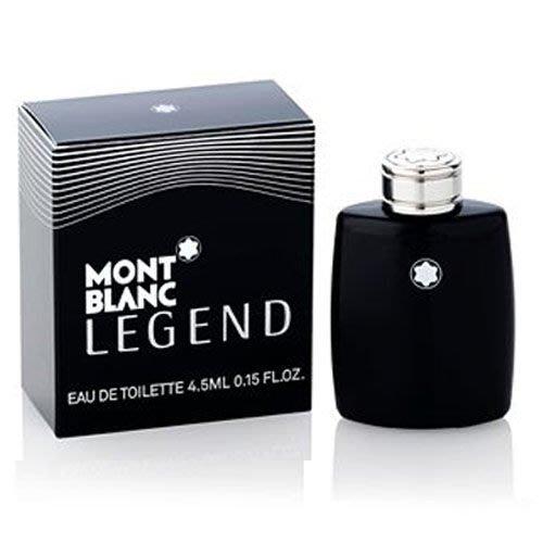 ☆MOMO小屋☆ Mont blanc LEGEND 萬寶龍 傳奇經典 男性淡香水 4.5ML