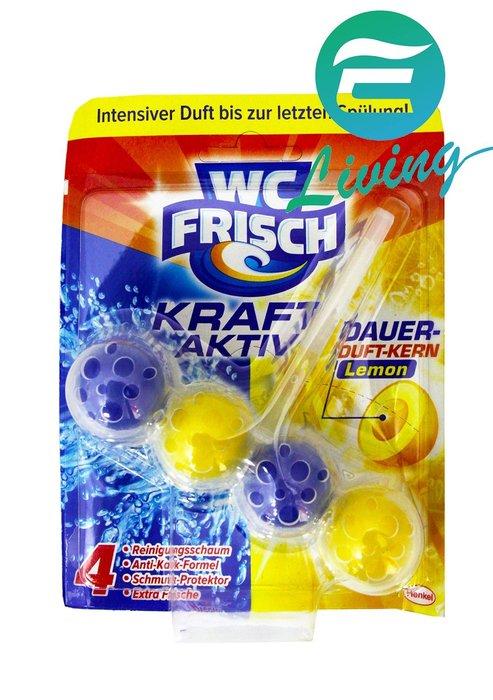 【易油網】WC FRISCH 廁清潔球 馬桶球 檸檬香 馬桶掛壁潔廁球 Persil BREF #63145