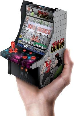 (全新美國直送) My Arcade 迷你街機遊戲機 (內置遊戲,全彩色,一開即玩)