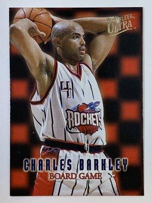 1996-97 Fleer Ultra Board Game #2 Charles Barkley Rockets