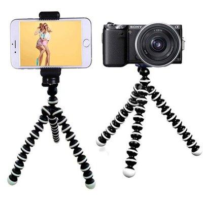 尼康佳能通用單反照相機手機三角架攝影章魚迷你自拍八爪魚三腳架