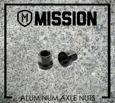 [Spun Shop] Mission BMX Aluminum Axle Nuts 花鼓軸芯鋁合金螺帽