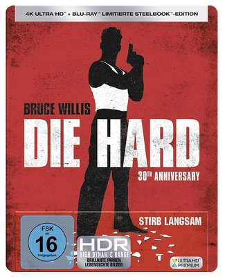 毛毛小舖--藍光BD 終極警探 4K UHD+BD 雙碟限量鐵盒版 Die Hard 布魯斯威利