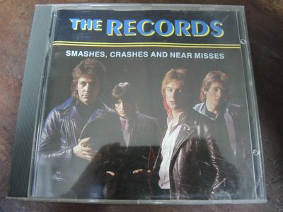 ◎MWM◎【二手CD】_The Records- Smashes, Crashes and Near Misses 英版
