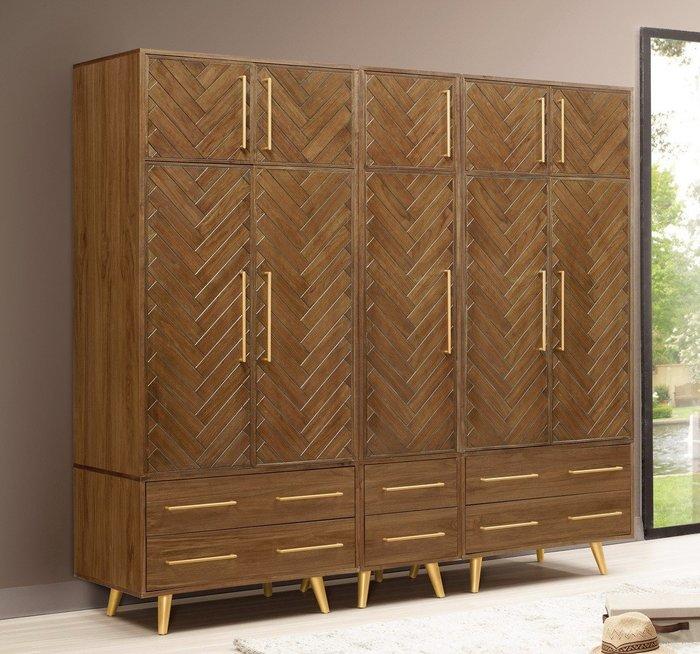 普萊斯7.6尺衣櫃(可拆售)😊暖暖屋傢俱傢飾😊